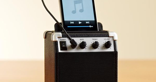 amp style retro speaker. Jake would love this! Birthday idea…