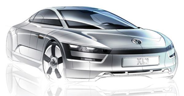 Volkswagen Xl1 Concept Automotive Design Concept Cars Car