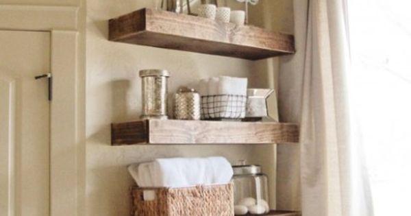 bathroom storage over the toilet bathroom storage ideas floating shelves rustic floating. Black Bedroom Furniture Sets. Home Design Ideas