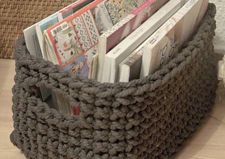 Ravelry: crochet basket pattern pattern by lauguina siuke -- free pattern!