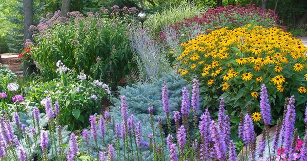 Garden space..... I just love flower gardens!