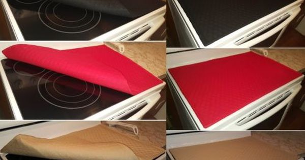 Quilted Cover Protector For Glass Ceramic Stove Top Cooktop 11 Colors Ceramic Stove Top Stove Burner Covers Glass Cooktop