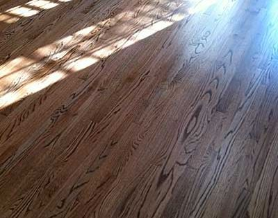 Red Oak With Duraseal Special Walnut Stain Stained Oak