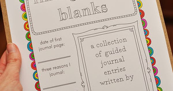 Grace is Overrated: Journal Pages Fill in the blank journal prompt printables.