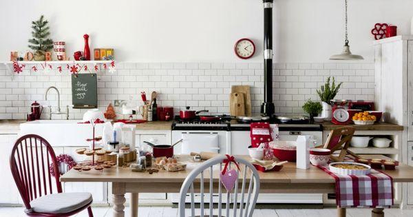 Kuche Weihnachtlich Dekorieren Ideen Gestaltung Weihnachtsdeko Tipps Weihnachtsdeko Christmasdeco Christmas Kitchen Decor Holiday Kitchen Decor Kitchen Decor