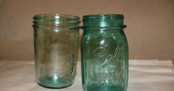 tinting glass with modge podge crafts Modge Podge On Painted Glass  Coloring Mason Jars With Modge Podge