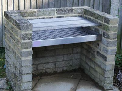 My Homemade Barbecue Grill And How To Build It Brick Bbq Brick Grill Bbq Grill Design