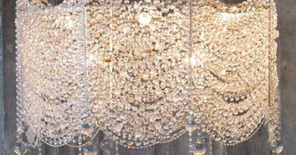 Chandelier. Gives me ideas on a DIY one