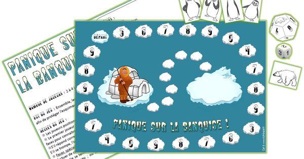Panique sur la banquise pour additionner ou multiplier for Apprendre multiplication en jouant
