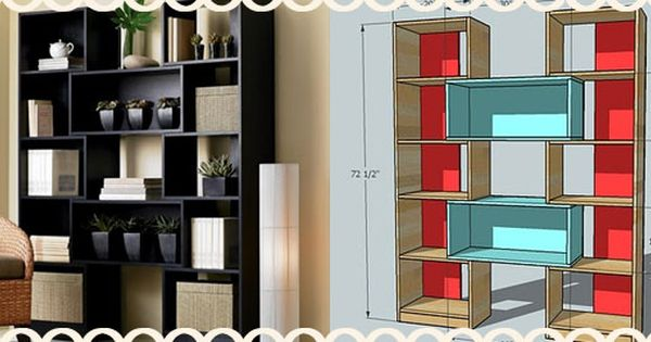 Plans Puzzle Bookcase Crate And Barrel From Diaper