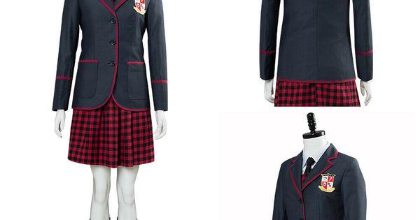 The Umbrella Academy Vanya Allison Cosplay Costume Coat Girl School Uniform Suit Fashion Clothing Shoes Accessories Costum Roupas Emo Roupas Roupas Naruto