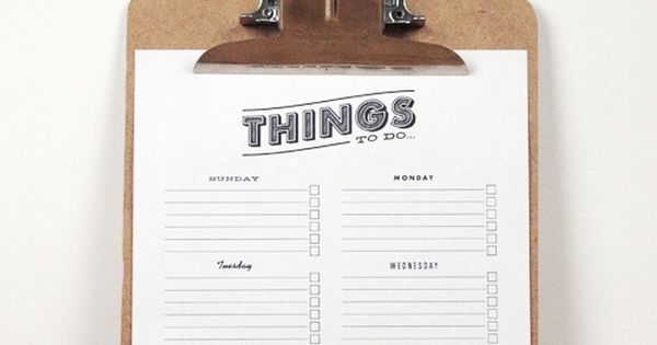 To Do List Printable printable todo lists