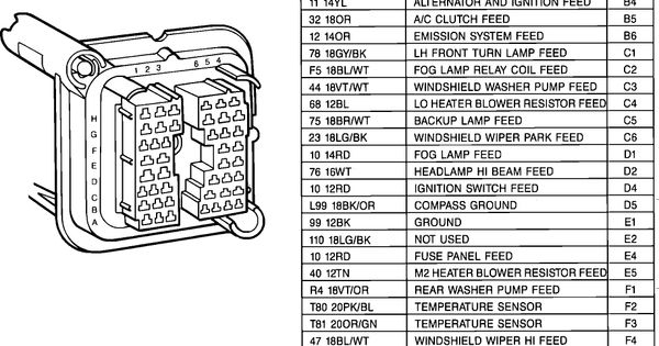87    Jeep       YJ       Wiring Diagram         Wiring       Diagrams         Jeep       YJ      Pinterest   Jeeps