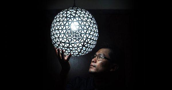 lampes faites maison cr es partir d objets de tous les jourscr er un objet utile avec ses. Black Bedroom Furniture Sets. Home Design Ideas