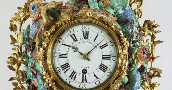 Wall Clock Pendule D Alcove About 1740 Movement By