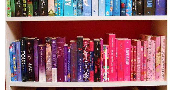 I Re Organized My Rainbow Bookshelf And It 39 S So