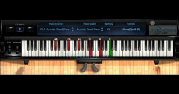 Fat Chords #31 - Piano Progression Voicings Phat Neo Soul Jazz ...
