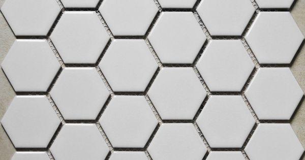 blanc hexagonal grande mosa que de c ramique carreaux de sol de salle de bains carrelage en. Black Bedroom Furniture Sets. Home Design Ideas