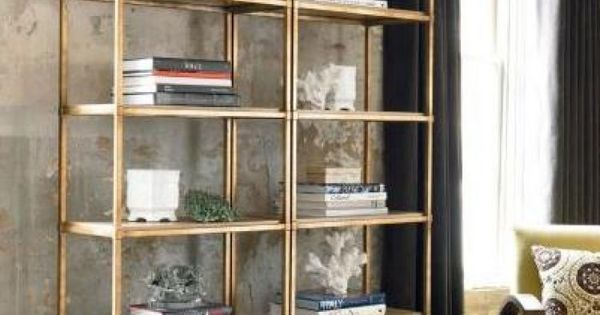 Cup half full industrial shelving vittsj ikea with for Ikea backless bookcase