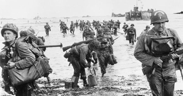 d day landings records