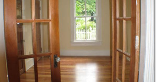 Interior french doors into office or dining room making a house a home pinterest - Interior french doors for office ...