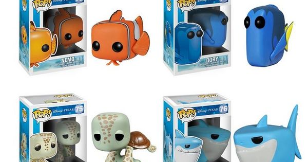 Finding Nemo pop vinyl figure set