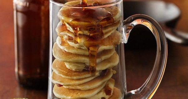 Beer and Bacon Mancakes | Recipe | Pancakes, Beer and Bacon