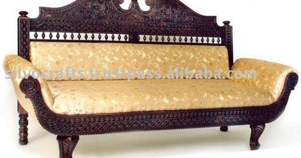Royal Indian Rajasthani Jodhpur Hand Carved Teak Wooden Sofa Diwan Sets Chaise Lounge Carved Furnitures By Clas Royal Furniture Hand Carved Teak Wooden Sofa