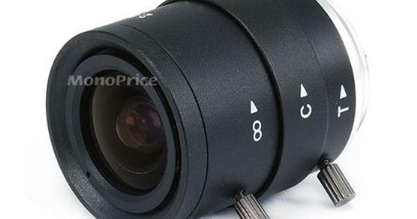 1//3 Inch 3-9mm IR F1.2 Varifocal DC Iris CS Mount Lens W//IR Correction