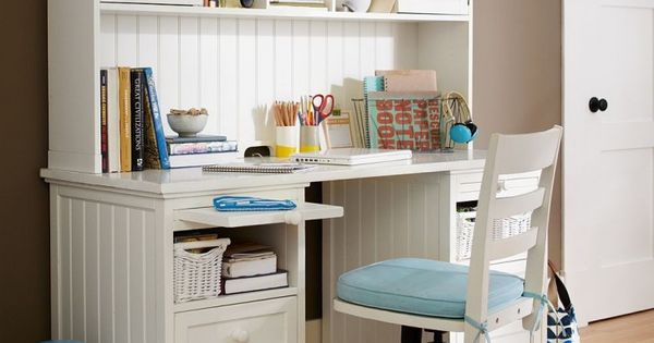 Pretty Girls On Study Table : With Girl Bedroom Desk White And Blue Also Beautiful White Study Table ...