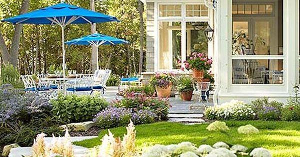 Such a beautiful backyard and wonderful house!