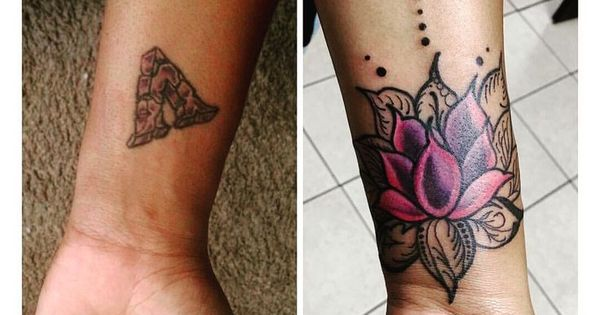 Pin By Kimberly White On Body Art Flower Cover Up Tattoos Wrist Tattoo Cover Up Ankle Tattoo Cover Up