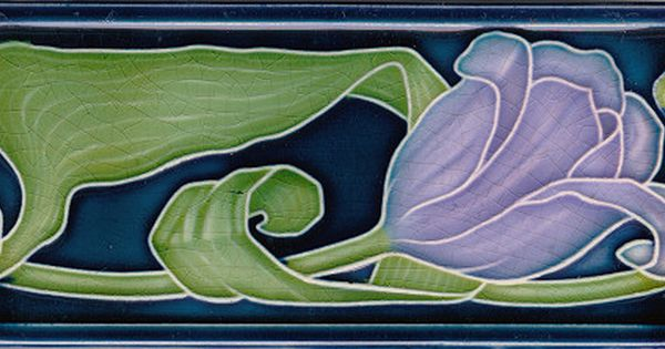 Art1900 Antiquitaten Berlin Kurfurstendamm 53 Jugendstilfliese Art 1900 Art Nouveau Tile Jugendstilfliesen Fliesen Im Jugendstil Art Deco Fliesen