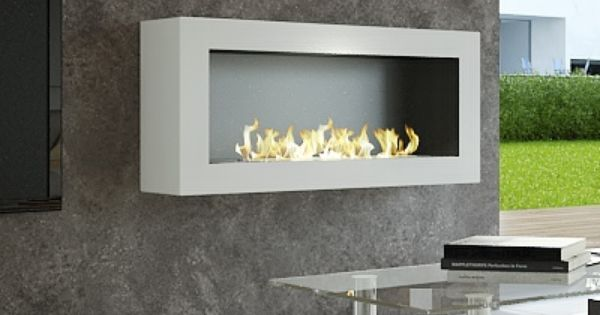 Smart Ethanol Fireplace With Remote Control Safety Detectors Afire Fireplace Doors Ethanol Fireplace Fireplace Wall