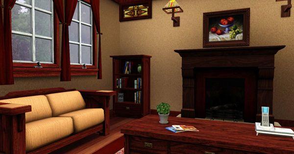LIVING ROOM SIMS Pinterest Cottage living Cottage living
