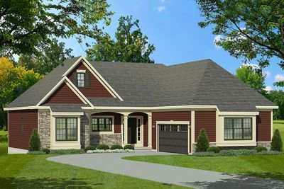 Plan 790091glv 3 Bed Traditional House Plan With Split Bedrooms In 2020 Traditional House Plans Ranch Style Homes Ranch House Plans