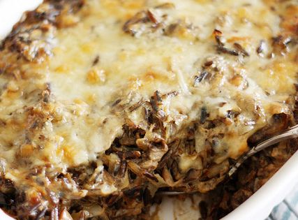 Creamy Mushroom And Wild Rice Casserole Recipe (Girl Versus Dough)