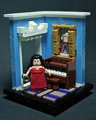 Lego Clue Vignettes Lego Room Lego Design Lego
