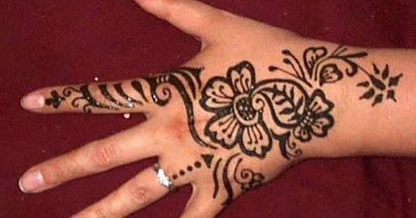 Mehndi For Practice : Simple arabic mehndi designs for left hand