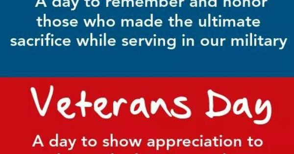 memorial day vs veterans day quotes