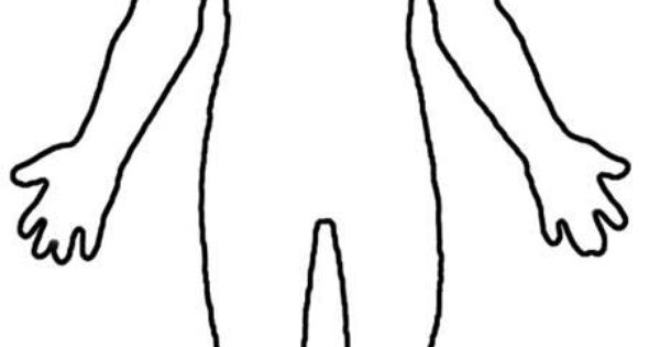 blank paper doll template