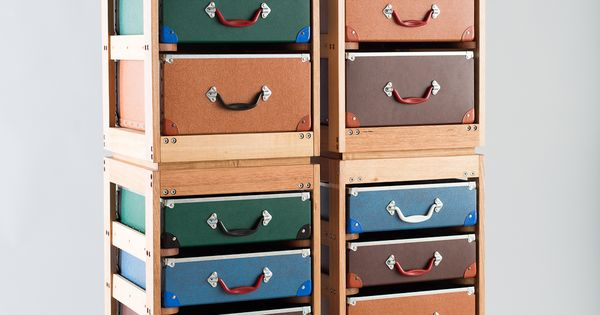 Trunk and orderly drawers
