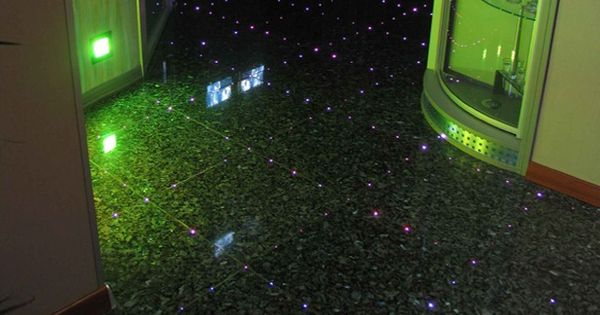 Fibre Optique Dans Carrelage Fibres Optiques Ciel Etoile Habitat