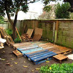 Faire Une Terrasse En Palettes Http Spicerabbits Blogspot Fr Terrasse Palette Faire Une Terrasse Terrasse