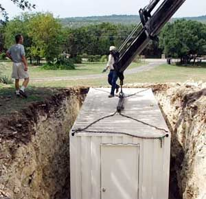 Using Shipping Containers For Underground Homes Basement Option
