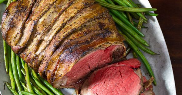 Crock Pot Bacon Wrapped Beef Tenderloin Recipe