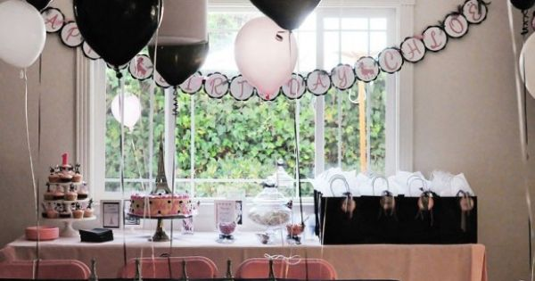 Paris theme baby girl party par s chic pinterest for Decoracion xv anos paris