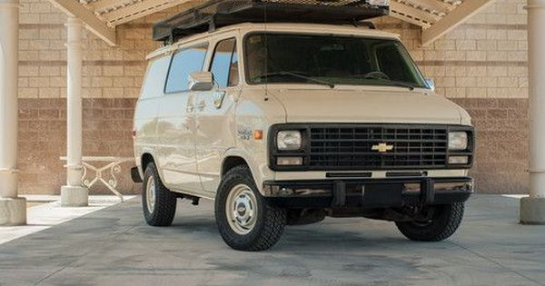 1993 Chevy G20 Custom Van With 10 000 Original Miles Like New