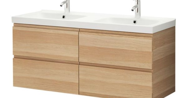 Godmorgon odensvik meuble pour lavabo 4 tiroirs ikea for Meuble a tiroir ikea