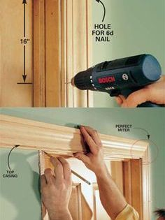 Interior Trim Work Basics Trim Carpentry Trim Work Woodworking